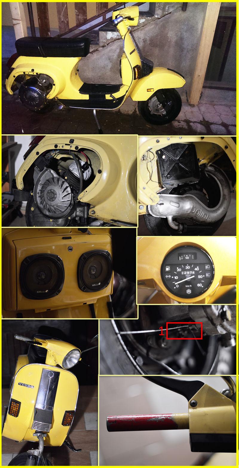 Modern Vespa Budget Restoration Pk50s Pk Wiring Diagram Few Details
