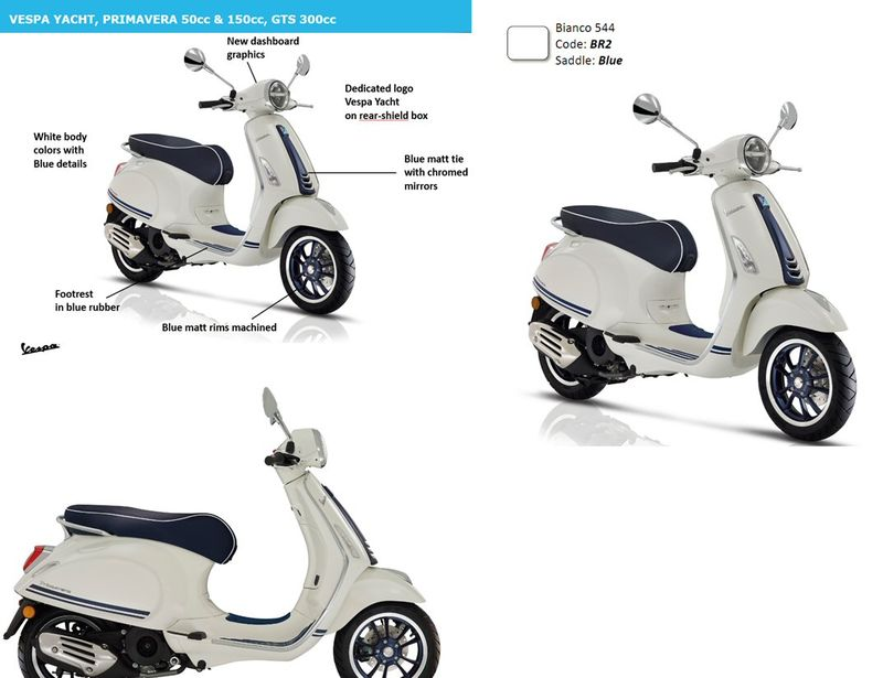 2019 Vespas On Their Way Adventure Rider