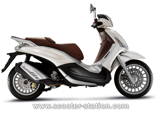 modern vespa : redesigned piaggio beverly (bv for us in the states)