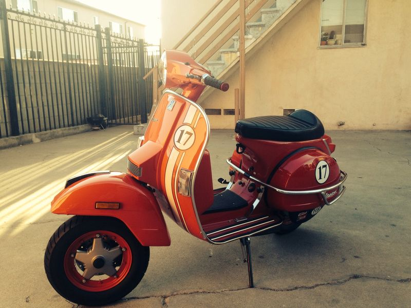 modern vespa 2005 vespa px150 for sale. Black Bedroom Furniture Sets. Home Design Ideas