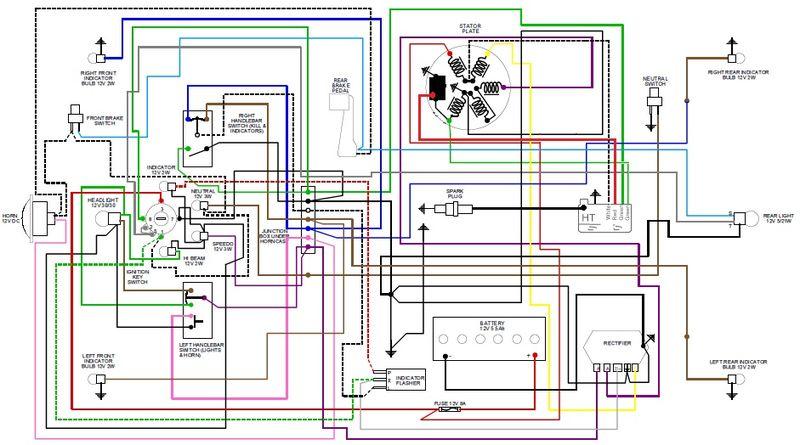 modern vespa ducati cdi wiring diagram rh modernvespa com 1980 Vespa P200E Turquoise 1978 Vespa P200E