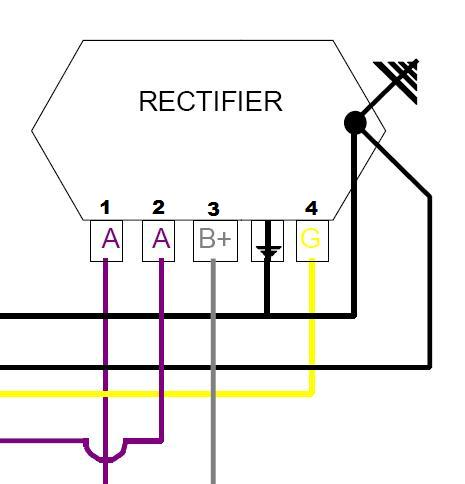 pxrectifier_948 modern vespa regulator rectifier dead or alive 1980 p200e 5 wire rectifier diagram at readyjetset.co
