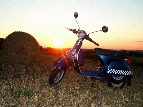 Vespa px 125 Midnight Blue Vespa px 125 Late Summer
