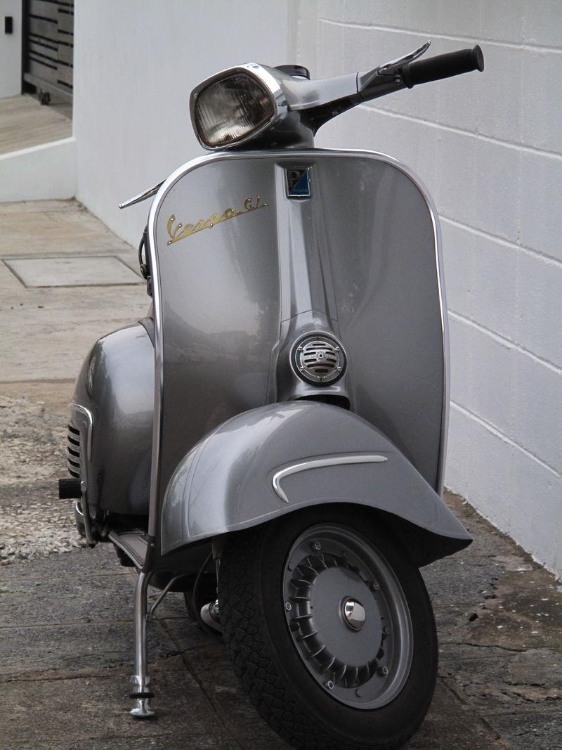 Modern Vespa My 1963 Vespa Gl