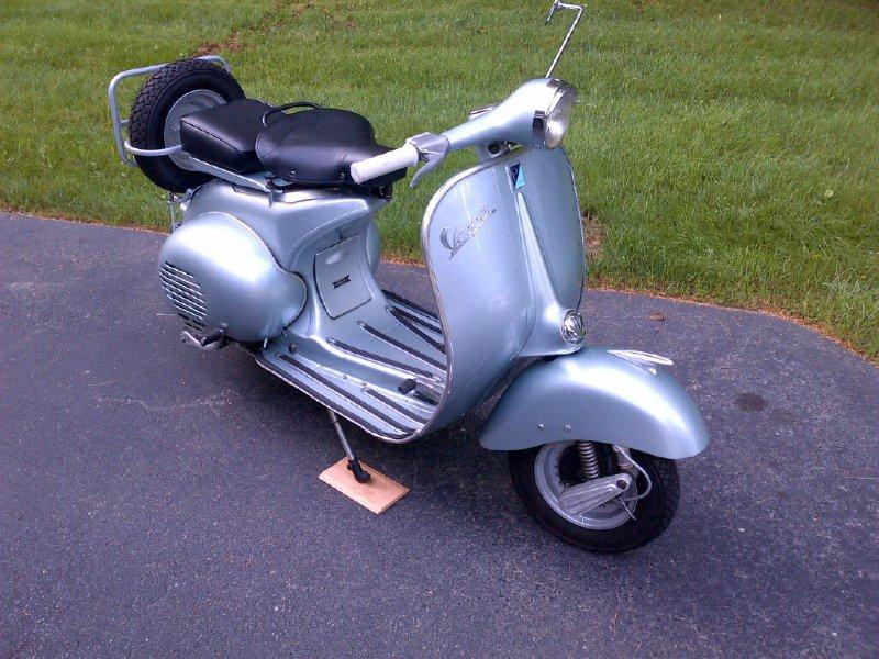 Modern Vespa : VB1 Horn -- does it work just like most? on vespa sprint, vespa super, vespa piaggio, vespa vna, vespa vbb, vespa gl, vespa vlb,