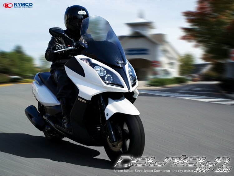 modern vespa kymco downtown 300i abs first real 300cc. Black Bedroom Furniture Sets. Home Design Ideas