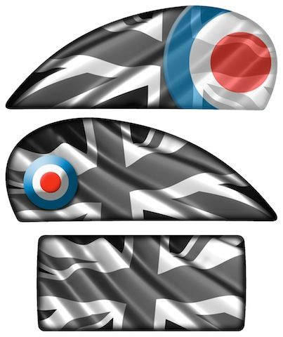 Modern Vespa Graphics Kit