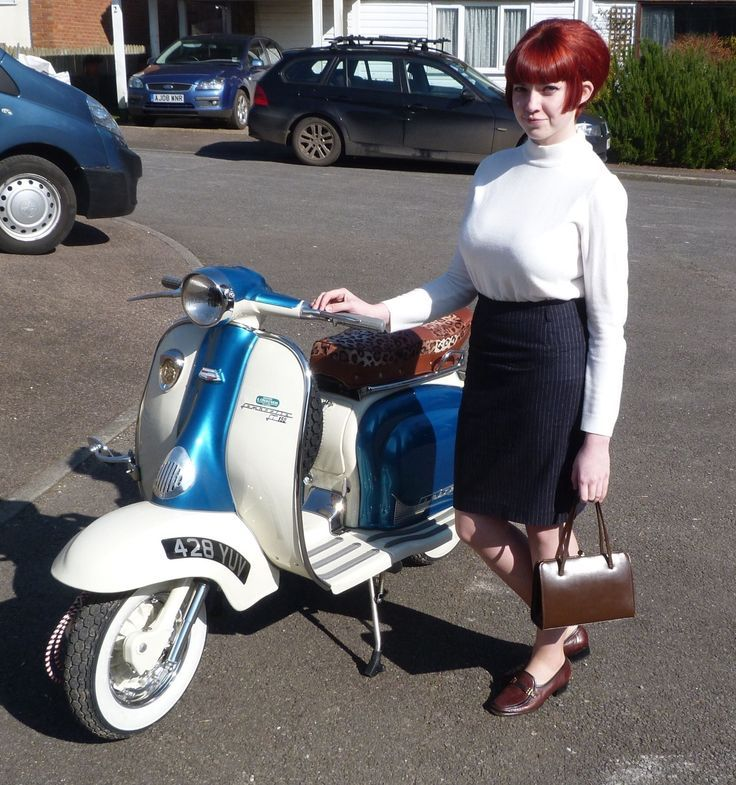 Harley Davidson San Jose >> Modern Vespa : Your Daily Scooter Girl, some NSFW