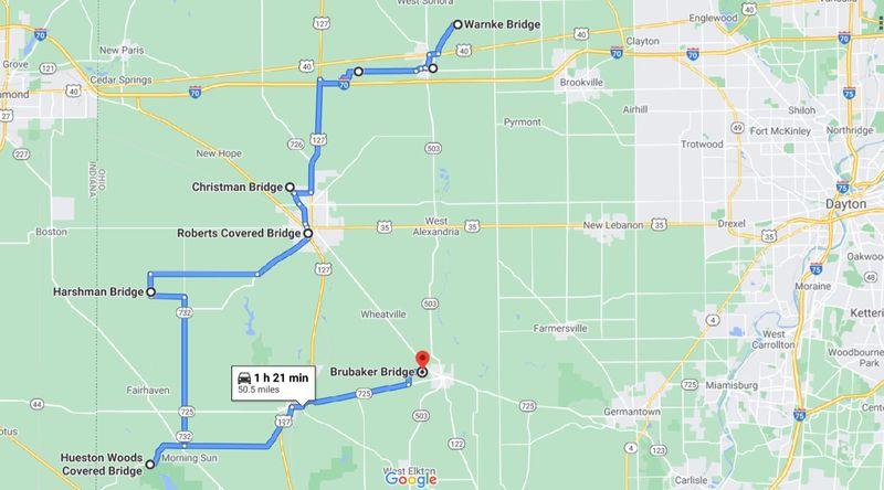7 bridges google map.JPG