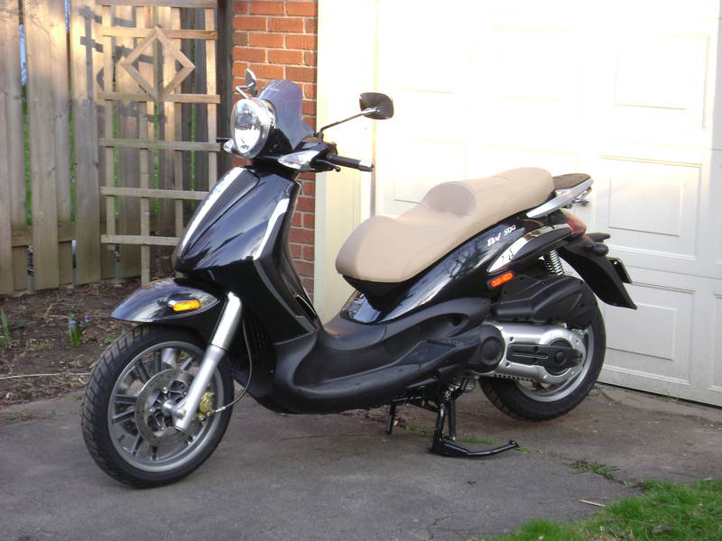 modern vespa : 2009 piaggio bv 500 for sale - london, on - canada