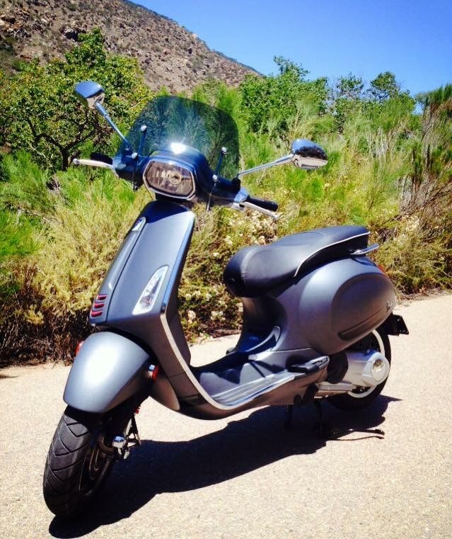 Modern Vespa New To This Forum Here Is What I Ride