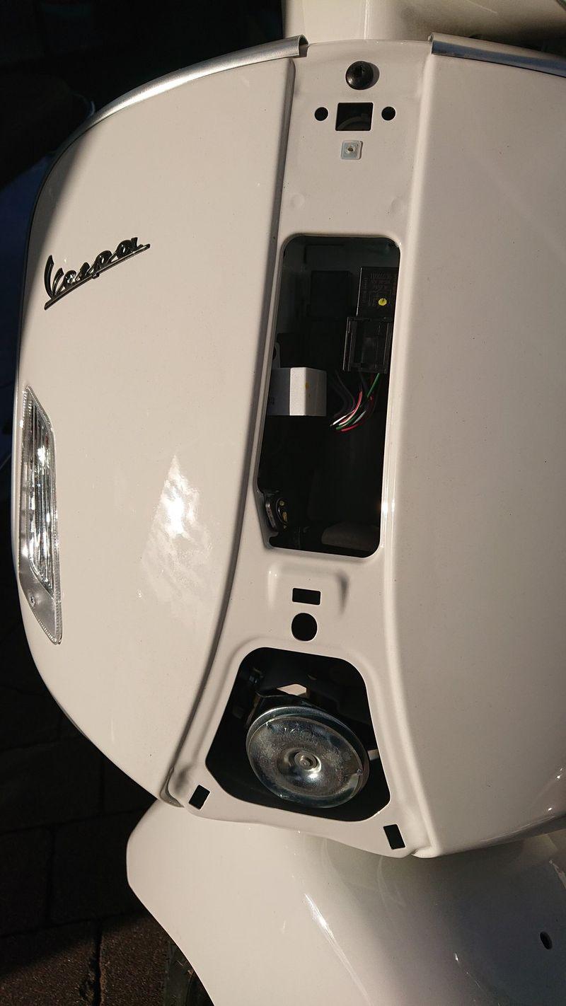 Modern Vespa Upgraded Horn For Vespa Gts Hpe