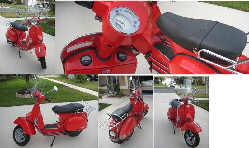Modern Vespa : For Sale Vespa PX 221CC, 2005 - $3300 OBO