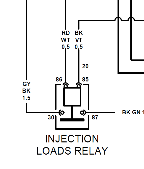 modern vespa   250ie injection loads relay