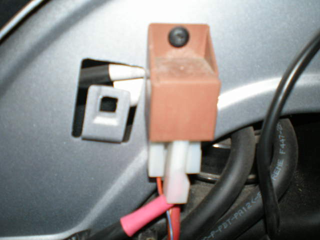 Relay Wires on Fuel Pump Relay Location