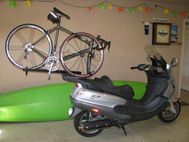 Modern Vespa Bike Rack For My X9