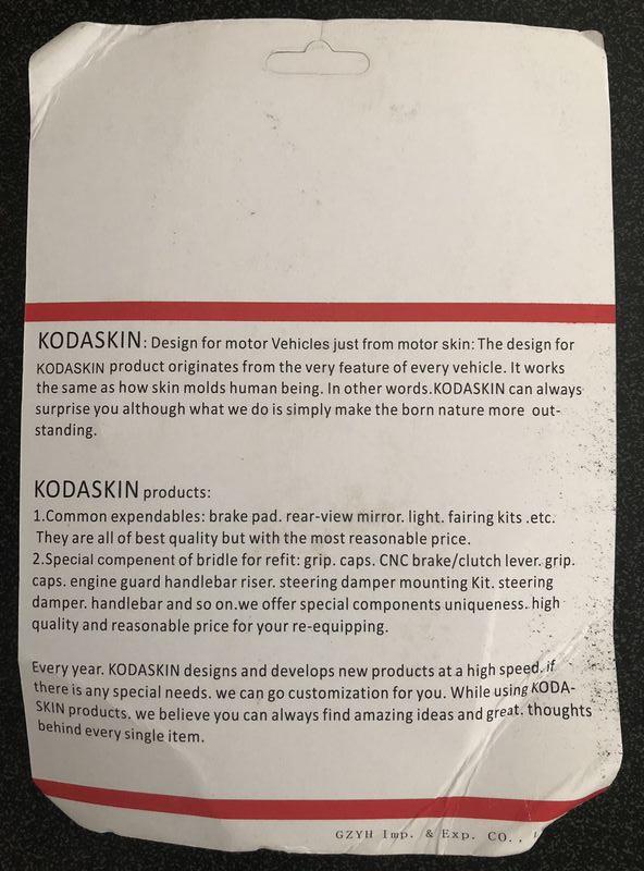PRO-KODASKIN Passenger Foot Peg Extensions Extended Footpegs for Vespa GT GTS GTV 60 125 200 250 300 300ie Titanium