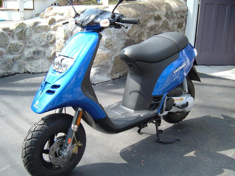 modern vespa : piaggio typhoon 70cc project finally completed!!!