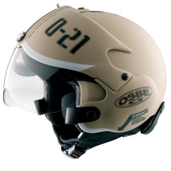 Modern Vespa Copter Helmets