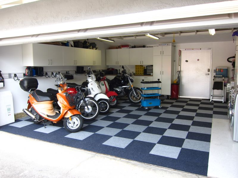 Rolektro spezial abdeckplane abdeckh lle garage f r for Garage reparation scooter