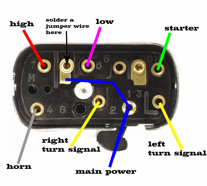 Modern Vespa   Rally 200 Turn Signal Questions