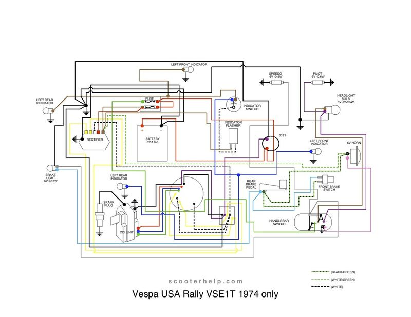 air compressor 3 wire wiring diagram 3 wire grounding diagram modern vespa installing a 4 pole 3rd party 6v rectifier #11