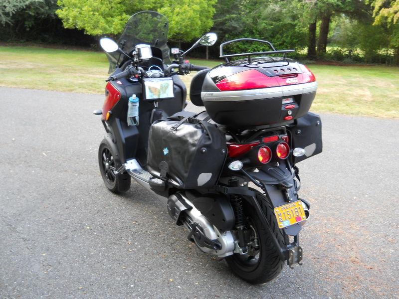 Long Distance Touring On A Suzuki Burgman Executive