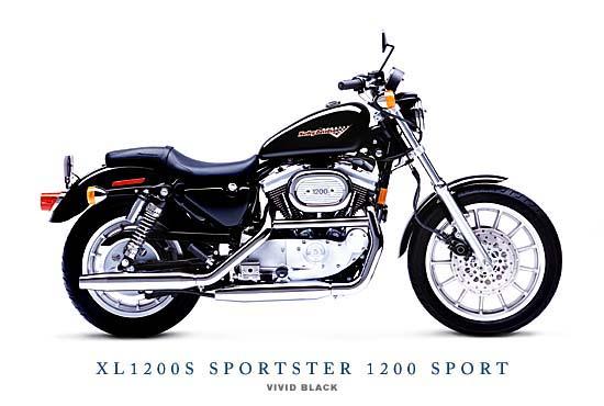 Modern Vespa 1997 Harley Sportster 1200 Xl For Sale