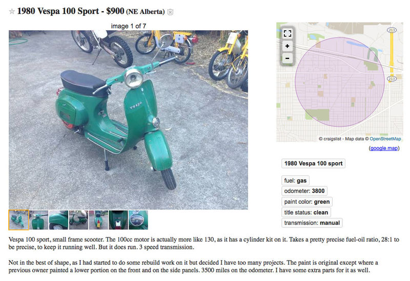 Modern Vespa : Deal O' The Day
