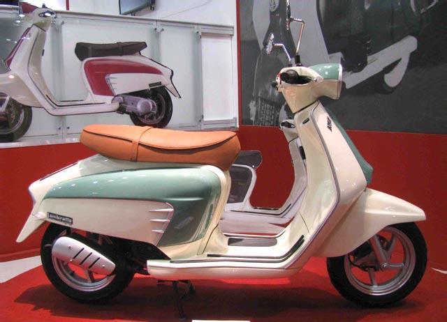 Scooter With A Sidecar Modern Vespa : Modern Lambretta.... do you like it?