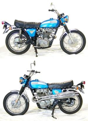 Modern Vespa Should I Fix Up My Dads 1970 Honda Cl450 Scrambler