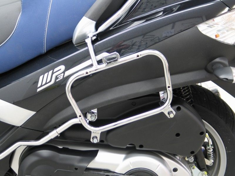 modern vespa side case luggage for mp3 500. Black Bedroom Furniture Sets. Home Design Ideas
