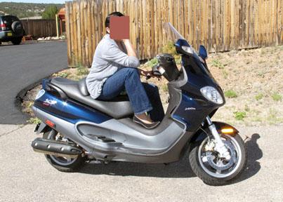 modern vespa : 2007 piaggio x9 evolution 500cc for sale