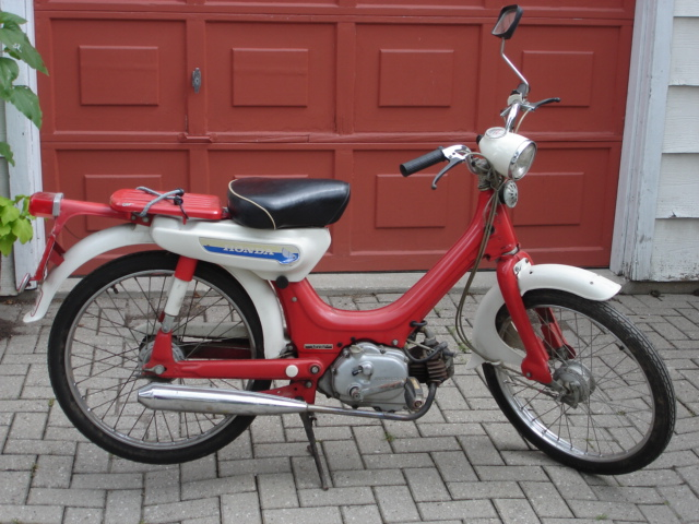 Honda Motorcycles Calgary >> Modern Vespa : What is a reasonable price for this Honda ...