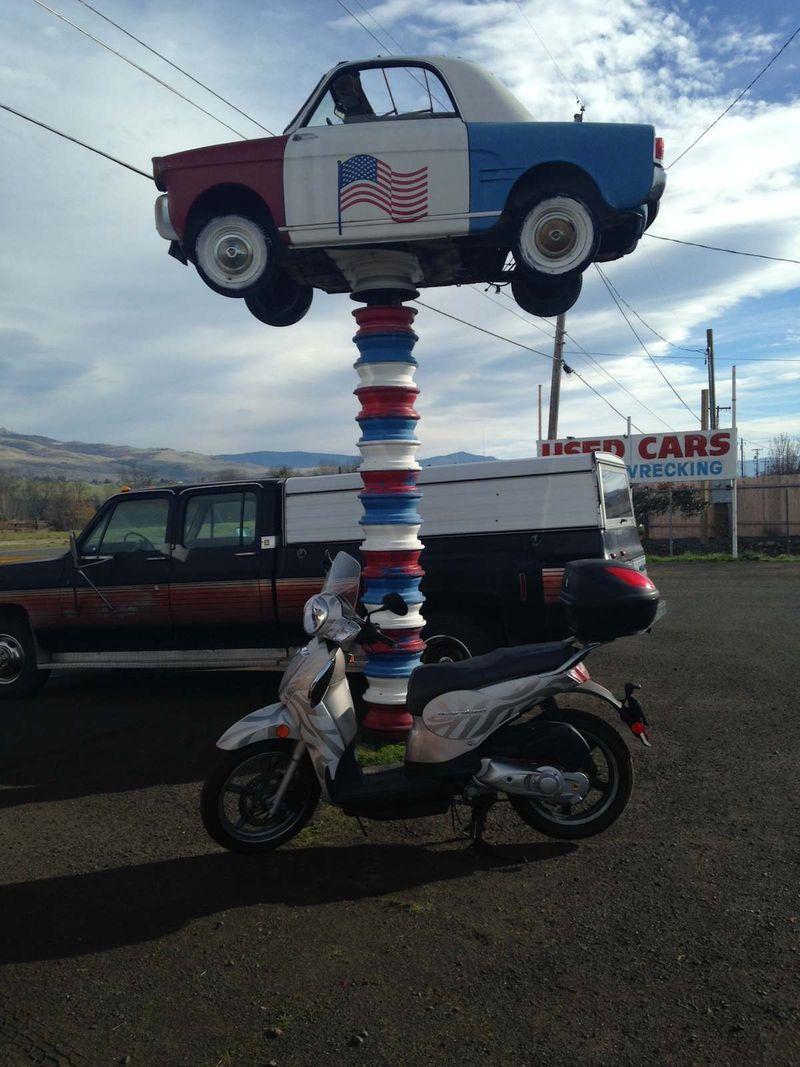 Scooter&CarSculpture.JPG