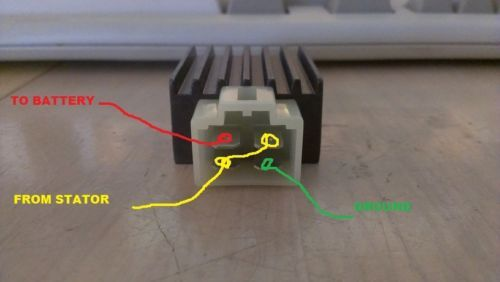 Terminals On Rectifier