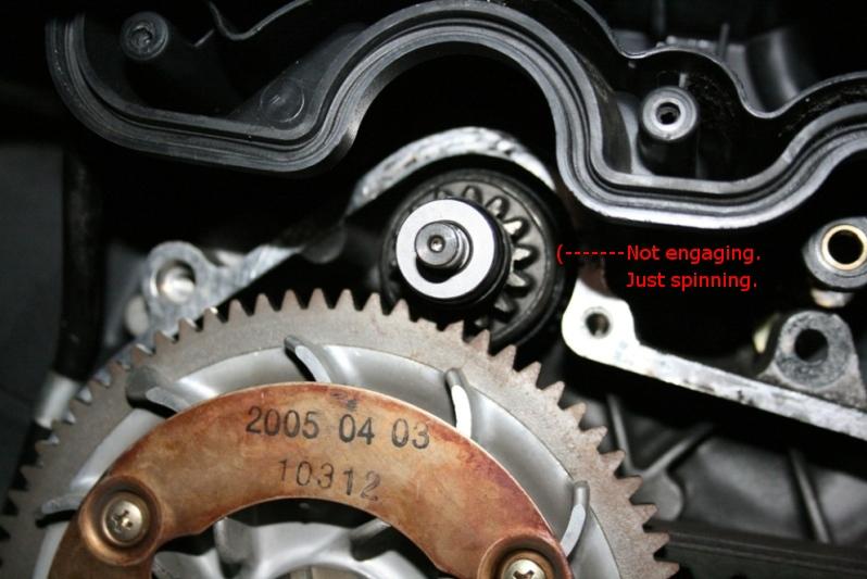 Modern Vespa : Starter spinning (UPDATE)