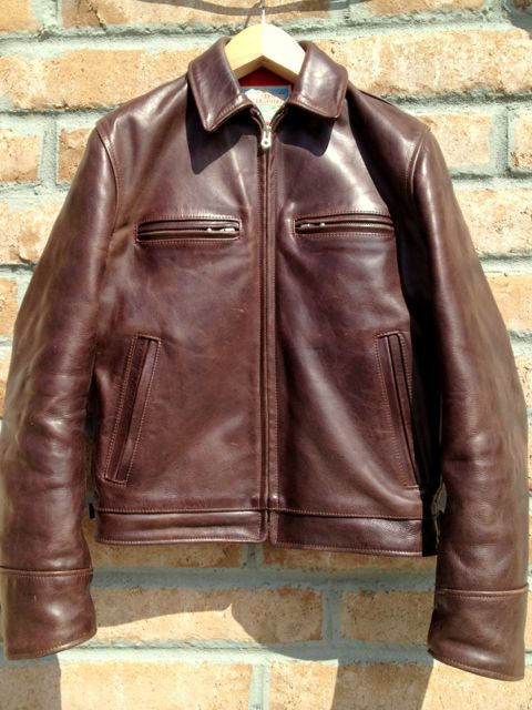 Modern Vespa : leather jacket decisions