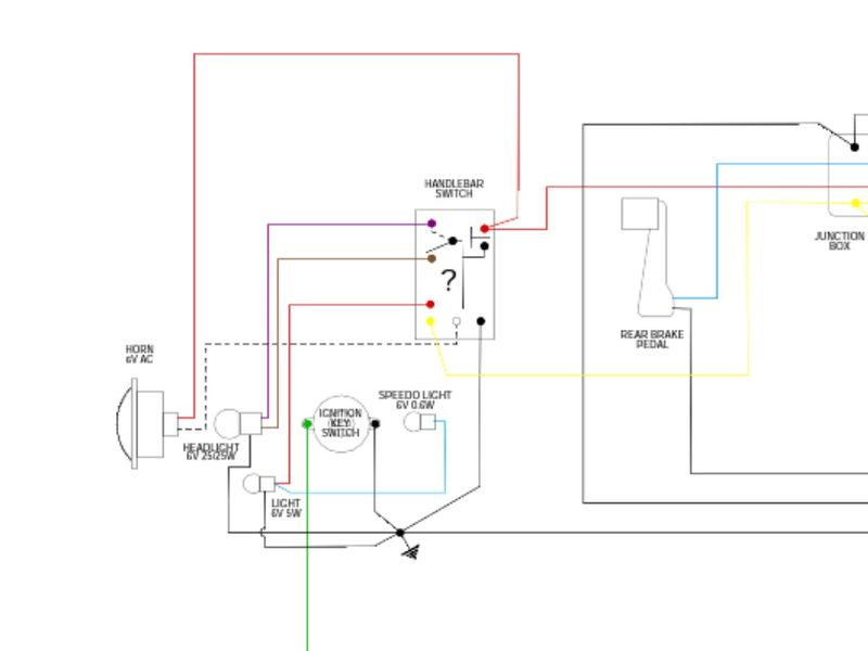 Vespa Et3 Wiring Diagram : Modern vespa et bulbs blowing diagnosis and wiring q