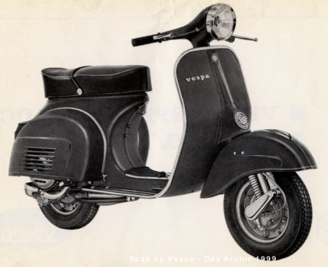 Vespa on Modern Vespa   Pre Ordering New Vespa 946  46   Quarantasei