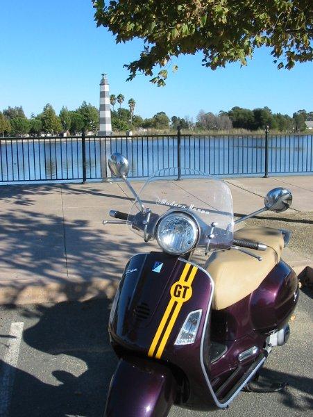 Modern vespa east north bay scooter tag for 360 salon fremont