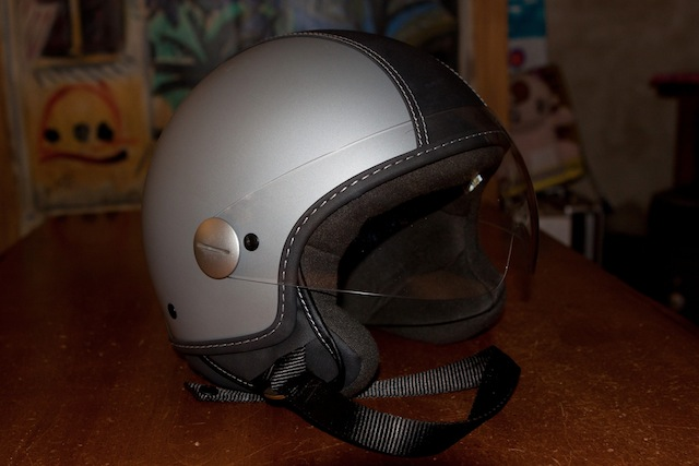 copter piaggio  Modern Vespa : Piaggio Copter Helmet...Slightly Used...$95