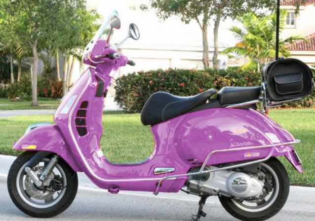 Purple Vespa http://modernvespa.com/forum/topic26447
