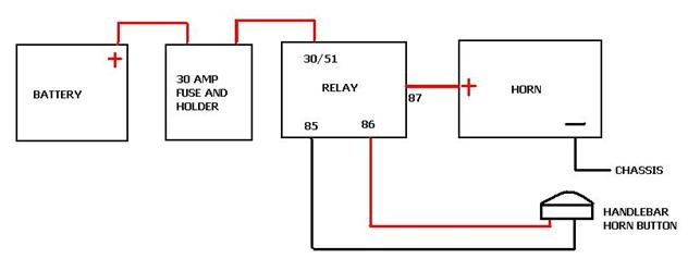 wolo dixie horn wiring diagram