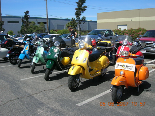Modern vespa who have a sprint can i see for 2nd st salon puyallup