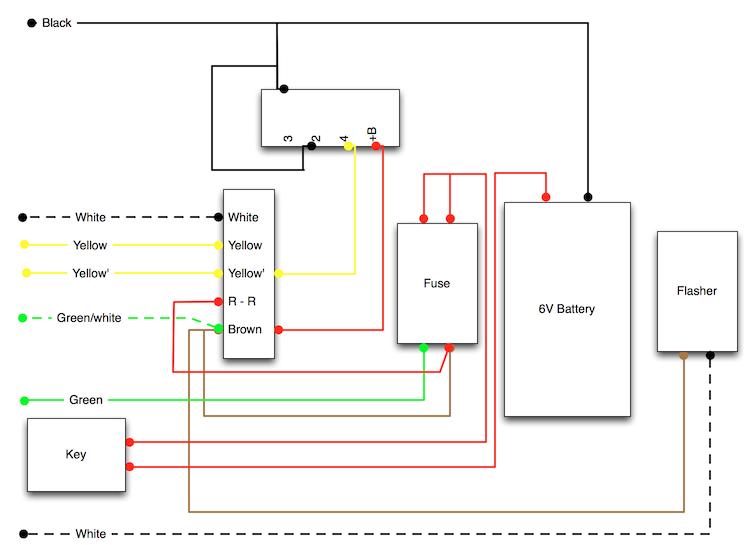 modern vespa : '74 rally 200 vespatronic wiring, with ... vespatronic wiring diagram keh 2600 speaker wiring diagram