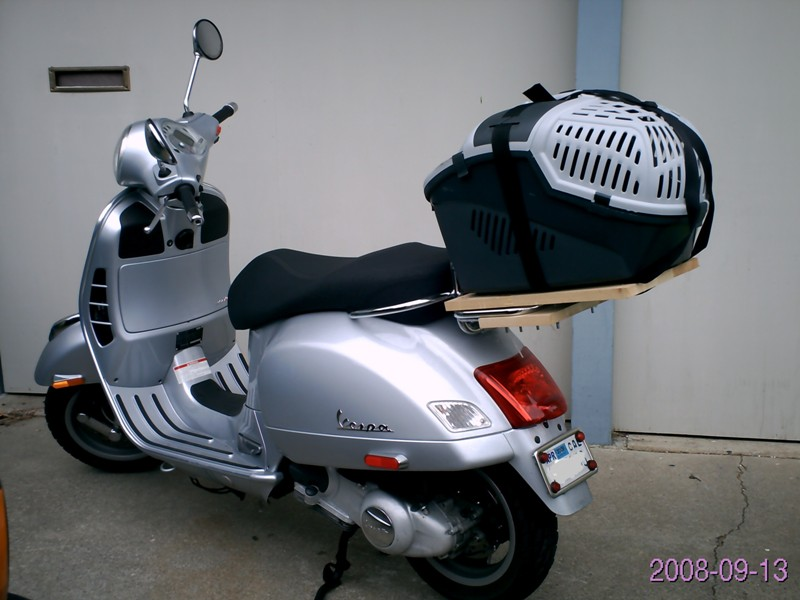 Modern Vespa Dog Carrier Suggestions Wanted