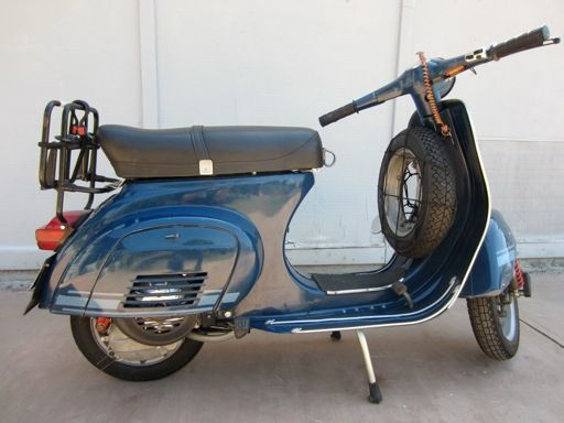 #phm.56777 Photo SCOOTERS VESPA SCANDINAVIAN AIRLINES SYSTEMS SAS 1950/'S moto