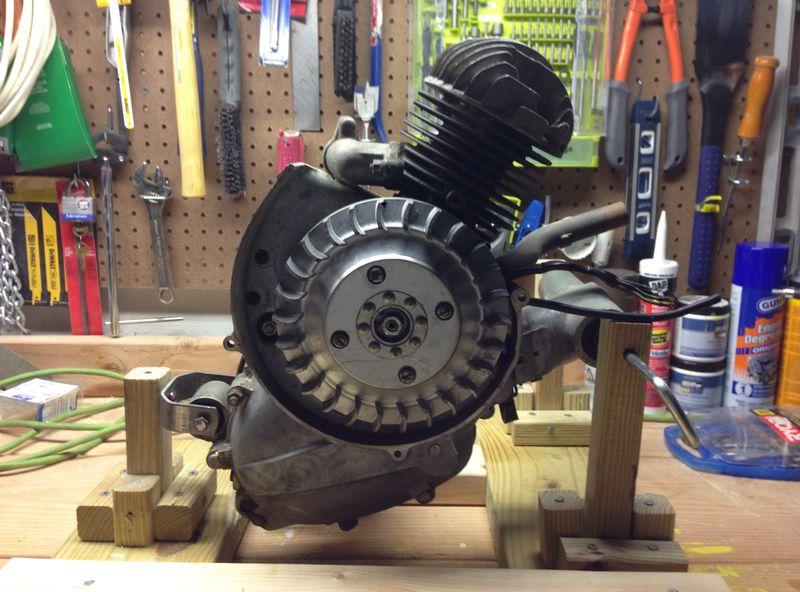 Vespa Smallframe Engine Rebuild