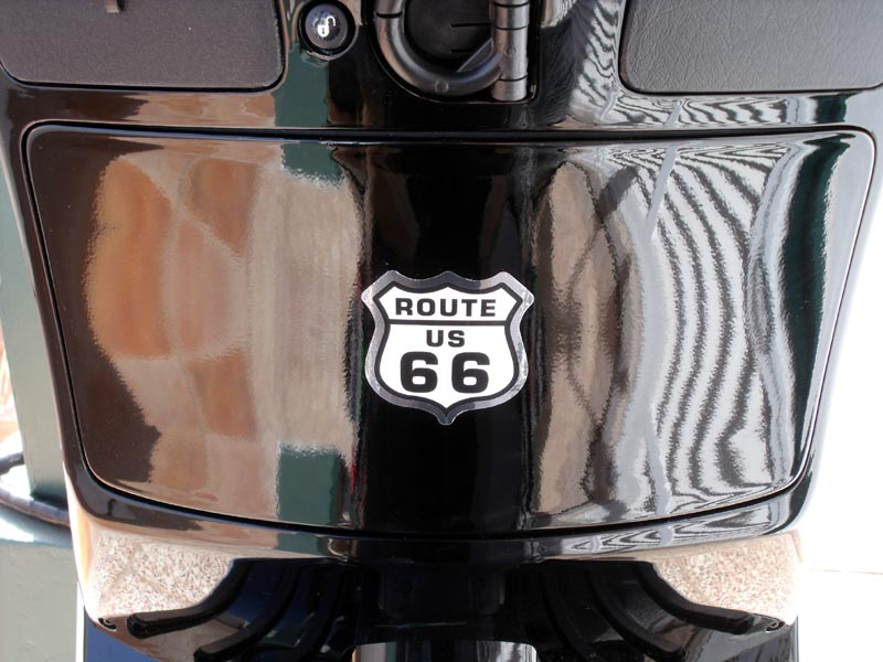 07 - Route 66 Sticker.JPG